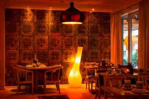 Kjempekoselig restaurant/frokostsal