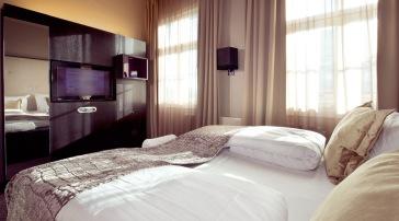 Alle rommene har deilige senger, på deluxe-rommene får du Kingsize (180x200)