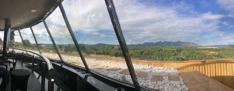 Fantastisk utsikt mot Montserrat