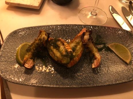 Sjøkreps med estragon og lime