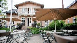 Park 29 sett utenfra. Koselig restaurant om sommeren. Bilde lånt av www.dn.no (Foto av Mikaela Berg)