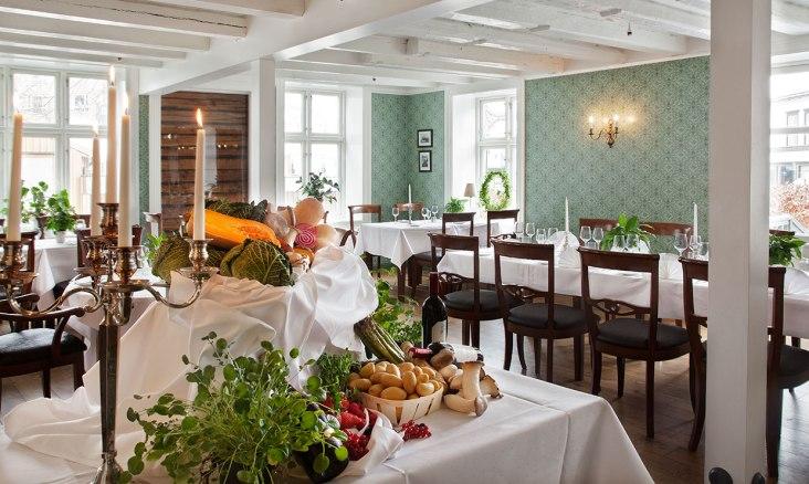 Fin restaurant hvor også det serveres frokost