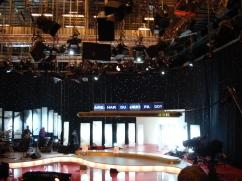 """Fra innspillingen vi var på i 2011, hvor en i publikum (""""Are"""") satt ved siden av han som styrte teksten på skjermene ;)"""