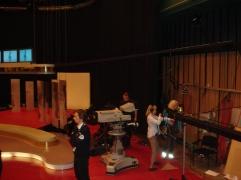 Fra innspillingen vi var på i 2008